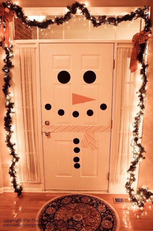 Dress up your door for the holidays - Greens Moving Solutions 1
